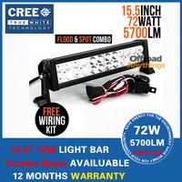 """13.5"""" 72W Cree Light Bar LED Combo Beam Off Road Fog Driving 4x4 SUV Bar UTV ATV 12V 24V Led Working Light Bars"""