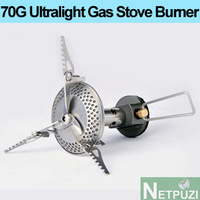 Ultralight 70G outdoor camping GAS stove burner NOT Camping equipment  WITH strong firepower OUTDOOR ACTIVITIES ACCESSORIES