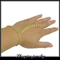 Gold alloy chain bracelets for men Fashion new women bracelet jewelry  Factory direct sale