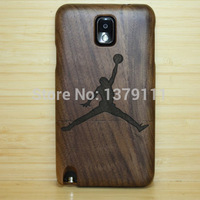 2014 New Brand 20 kind Laser pattern Safety Wooden Handmade Natural wood Hard case cover For Samsung Galaxy Note3 Free shipping