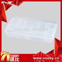 NOEBY Brand  21cm*10.7cm*4.2cm Plastic Portable Fishing Box Tool Minnow Popper Fishing Lures Hooks Baits Fishing Tackle Boxes
