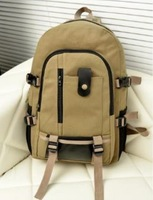 men's backpack casual canvas backpack middle school bag travel bag Computer Backpack Outdoor Sports schoolbags free shipping