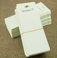 Wholesale Fashion Jewelry Package PVC Card Tag For Hair Jewelry Accessory