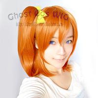 Kousaka Honoka 50cm Body And 35cm Chip Ponytail Anime Cosplay Hair Wig