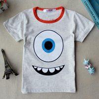 New summer children's clothing children's cotton t-shirt shirt hedging Korean fashion selling children's clothing