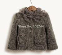 Children's furry jacket, girls jacket,ZL-WMR01