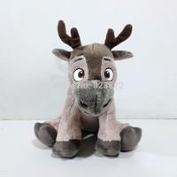 Original FROZEN Toys Toddler Sven Plush Toys 25cm Frozen Kristoff Reindeer Stuffed Animals Brinquedos Kids Toys for Children