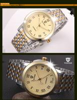 Twiss genuine automatic mechanical men's watches steel male table Locke waterproof men's table