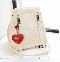 2014 Fashion new Korean female bag multifunctional sport PU travle portable Crossbody School Bag backpacks