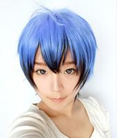 Azuma Tokaku Blue Gradient Short Cosplay Anime Wig