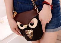 Best Selling Women's Mini Coin Purse Owl Bag Wallets Shoulder Bags Fashion Cute Mini Cartoon Porte Monnaie Bolsa Pequena