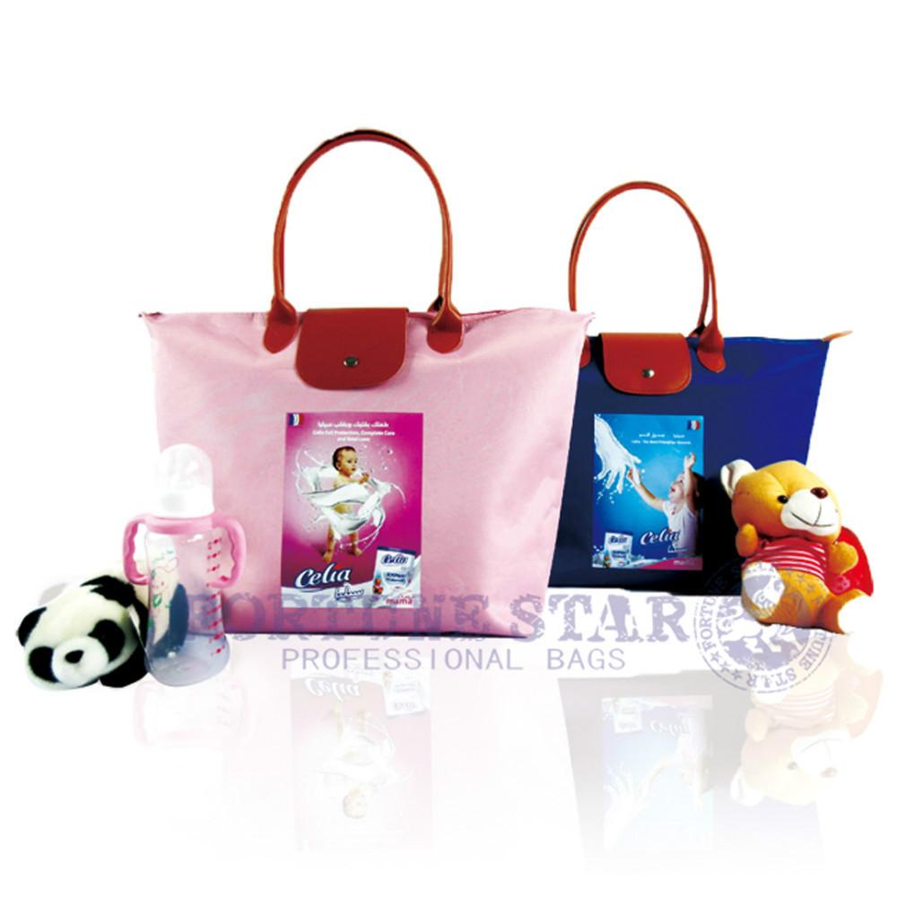 DIAPER BAG Fashion shoulder bags Fabric handbags mummy bags big animal cartoon print shopping bag(China (Mainland))