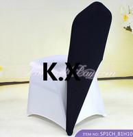Hot Sale Spandex Chair Cap Chair Cover--Black Color