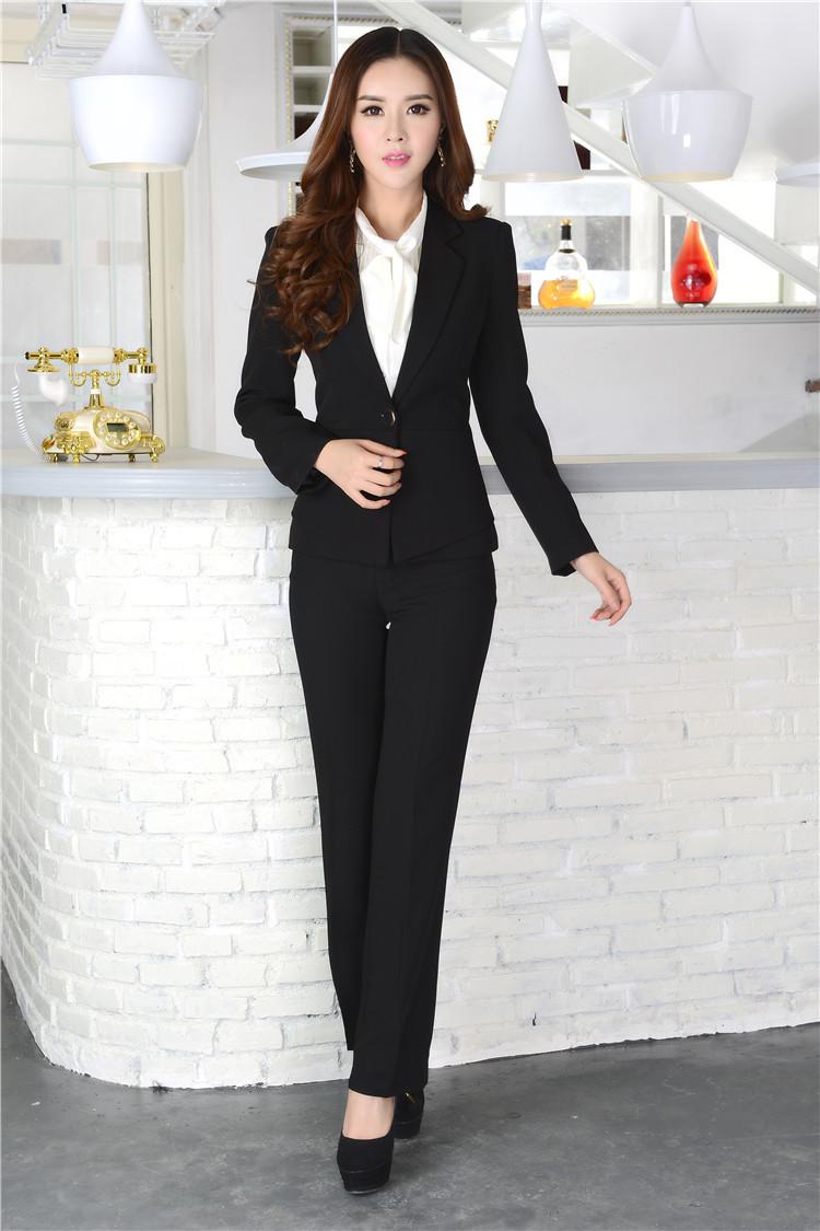 Ladies Designer Pants Suits Formal Ladies Pant Suits