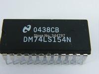 100% NEW ORIGINAL  IC DM74LS154N 74LS154N 74LS154 DIP-24 DM74LS154