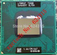 For Intel Core 2 Duo T5500 CPU (2M Cache, 1.66GHz, 667 MHz FSB) PGA478, SL9SH ,TDP 34W, Laptop CPU Compatible 945GM 945PM 945GME