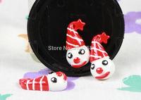 Wholesale lovely Santa clown FlatBack Resins Scrapbooking Embellishment 50pcs