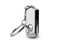 New 2014 Swivel Metal Key Chain USB Flash Drive 64GB Pen Drive Pendrive Card Stick Drives Memory Pendrives from Memory world
