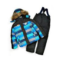 379 winter kid cltothing sets fur cotton parkas coat jacket wool vest overalls pant sport ski suit snowsuit tracksuit for boys