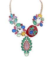 vintage metal punk necklace women jewerly wholesale fashion statement necklace 2014