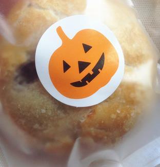 1000pcs/lot,Halloween Pumpkin 3cm round sealing sticker baking package cookies cake box decoration,custom gift bag sticker(China (Mainland))