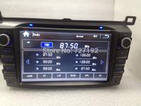 Two Din 8INCH TOYOTA RAV4 2013-2014 dvd player 3g/wifi ipod gps sd usb mp3/4 FM/AM BT TV 4gb map Free Shipping