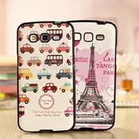 Hot Fashion PU Grain Soft Case for Samsung Galaxy Grand 2 Duos G7106