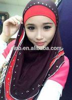 Wholesale free shipping latest design 2014 fashion islamic arab scarf hijab TT145