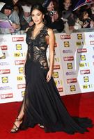 Free Shipping New Sleeveless Tank V Neck Applique Prom Inspired Gown Nicole Scherzinge Sexy Black Celebrity Evening Dress