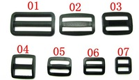 Free shipping Plastic Backpack Ribbon Buckles,  Adjustment buckle Luggage Accessories