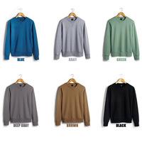 Good Quality Fashion Designer Mens Pullover Sweatshirt All Cotton Slim Fit Men's Crewneck Sweatershirts for Men Man Hoodie M-XXL