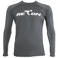 New Men's high quality uv protectionLong sleeve polyester rashguards rash shirt  black Sports free shipping