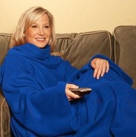 Snuggie Adult One Size Fits All Unisex Blanket With Arms Soft Blanket With Sleeve