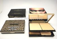 1PCS Brand Powder High Quality Makeup Cosmetics powder Plus foundation Fix Common 3-Colors Powder Box Free shipping