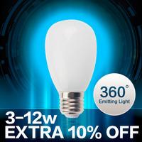 5pcs/lot  E27 360 Led Light Bulb 3W 5W 7W 9W 10W 12W 15W LED Bulb Lamp 220v 110V Cold Warm White Led Spotlight Free Shipping