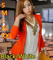 Free Shipping Plus Size 2014 Fashion Copper Ornaments Chiffon Shirt Women Vintage V-neck Long-sleeved Tops S/M/L/XL/XXL Blouse