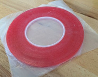 Red 6mm Wide Double Sided Layer Adhesive Sticky Tape Sticker for Mobile Phone Glue LCD  and Touch Screen Digitizer