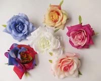 high quality big rose flowers artificial flowers ball head brooch festival home wedding decoration flower silk flower