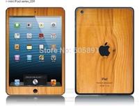 wooden cute Kawaii love cartoon diy decoration Crystal skin luminated sticker+Screen protector for ipad mini