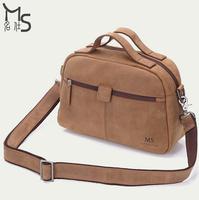 2015 Men Bag Guaranteed 100% Genuine leather Fashion Vintage Travel bag Crazy horsehide men travel bags