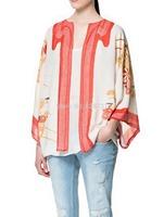 2014 Elegant Ladies Ethnic Floral Loose Style Kimono Cardigan Jacket Coat Free Shipping
