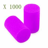 1000pcs/lot   Howard Leight Ear Plugs earplugs foam travel pack Rizla Suzuki Team Foam Ear Plugs and Case NEW!