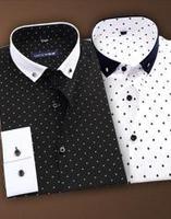 Camisa Social New Time-limited Fashion 2014 Spring Autum Businese Casual Shirt Male Long-sleeve Slim Korean Men's Dress Shirts