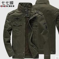 fashion new men's casual  plus size plus size jacket stand collar medium long men's leisure  jacket and fertilizer  fat man