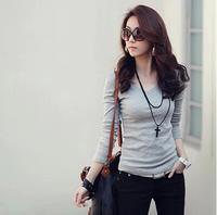 New 2014 Fashion T shirt Women Sexy Crop Top Casual Plus Size Thin Women Clothing