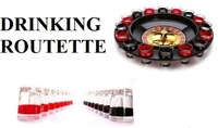 Russian Drinking Roulette Set 16 Shot Glass Adult Drink Game Spin The Wheel Party Game
