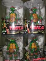 "Free Shipping Original NECA 5"" TMNT Teenage Mutant Ninja Turtles Set 4 Playmates PVC Action Figure Collection Toy 4pcs/set"