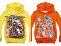 Cartoon long-sleeved sweater autumn Kids Hooded Sweater t-shirt TransFormers