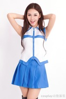 cosplay anime costume Fairy Tail Lucy Heartfilia  Clothes The skirt