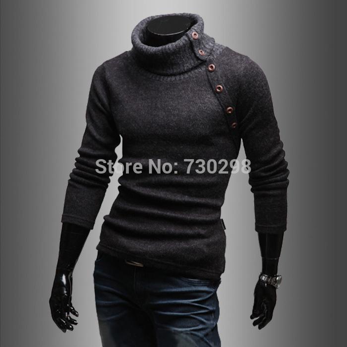 Sweater High Collar High Collar Winter Sweater